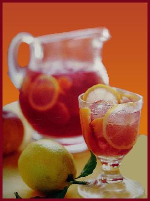 Venez boire un coup, manger un morceau faire la fête en somme!!! Sangria-452d7b