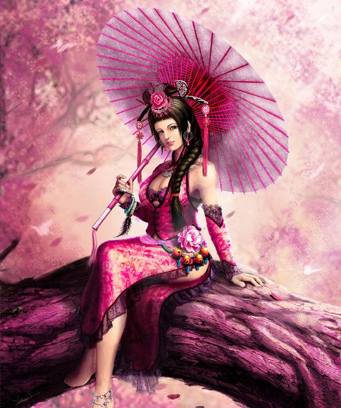 belle-geisha-ombrelle-rose-flora