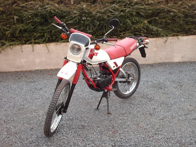 Réstauration d'un DT-MX 50 à vitesses auto de 1983 009-bab149