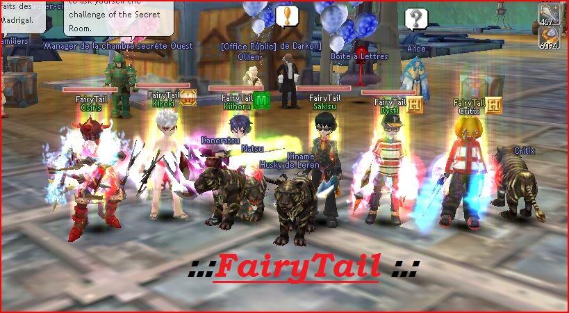 FairyTail Index du Forum