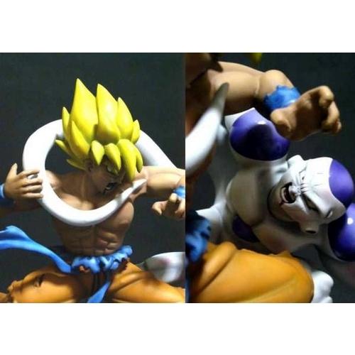 DBZ statue pvc, résine, diorama et kit... Goku-freezer-1615fdd