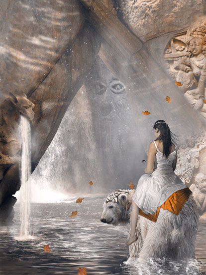 belle-image-femme-ours-grotte-flora
