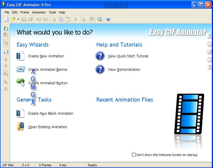 Crear imagenes animadas en un snap easy animator